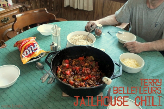 Terry Bellefleur's Jailhouse Chili